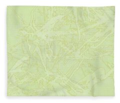 Edition 1 Lime Sorbet Fleece Blanket
