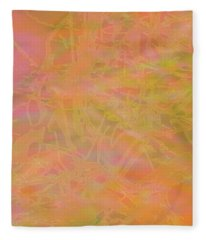 Edition 1 Mango Passion Fleece Blanket
