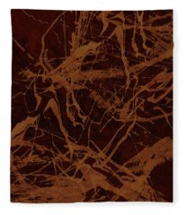 Edition 1 Rust Fleece Blanket