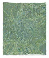 Edition 1 Sea Foam Fleece Blanket
