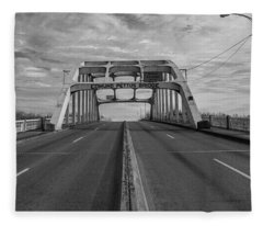 Edmund Pettus Bridge Selma Al Fleece Blanket