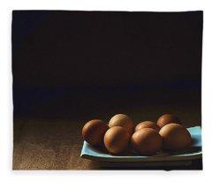 Egg Fleece Blanket