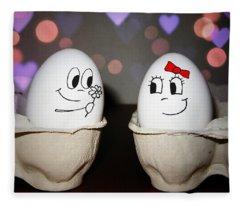 Egg Love Fleece Blanket