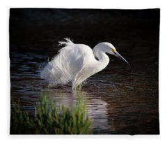Egret Fleece Blanket