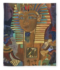 Pyramid Paintings Fleece Blankets