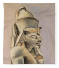 Egyptian Study Fleece Blanket