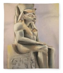 Egyptian Study II Fleece Blanket