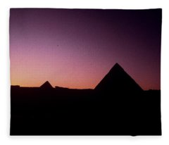 Egyptian Sunset Fleece Blanket