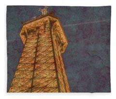 Paris, France - Eiffel Peak Fleece Blanket