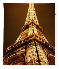 Eiffel Fleece Blanket