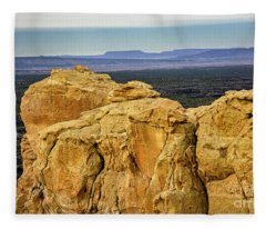 El Malpais National Monument Fleece Blanket