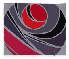 el MariAbelon red Fleece Blanket