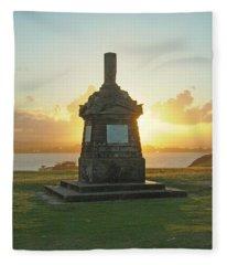 El Morro San Juan Puerto Rico Fleece Blanket