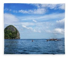 El Nido Islands Fleece Blanket