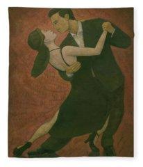 El Tango Fleece Blanket