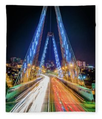 El Viaducto Fleece Blanket