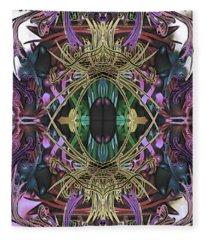 Electric Eye 2 Fleece Blanket