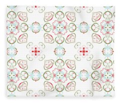 Elegant Christmas #02 Fleece Blanket