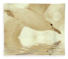 Elegant Flight Fleece Blanket