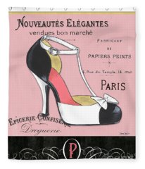 Elegant French Shoes 1 Fleece Blanket