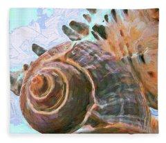 Elemental Presence 15 Fleece Blanket