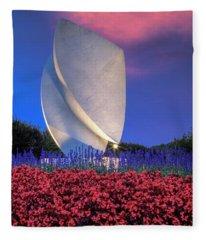 Elements At Christopher Newport University Fleece Blanket
