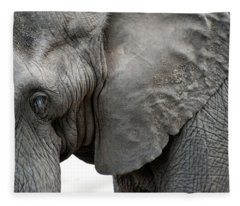 Elephant 2 Fleece Blanket