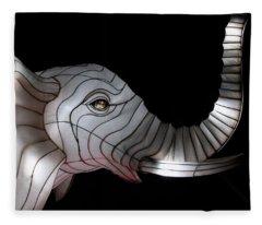 Elephant Light Fleece Blanket