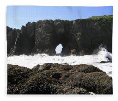 Elephant Rock 2 Fleece Blanket