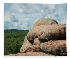 Elephant Rocks Fleece Blanket