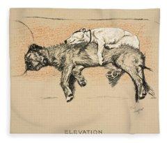 Elevation Fleece Blanket