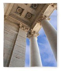 Elevation - Olympia Washington Capitol - Color Fleece Blanket