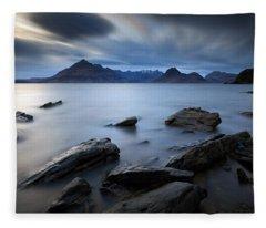 Elgol Rocky Shore Fleece Blanket