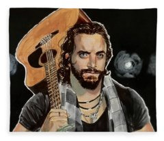 Elias Samson Fleece Blanket