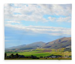 Ellensburg - Manastash Ridge Fleece Blanket