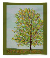 Ellie's Tree Fleece Blanket