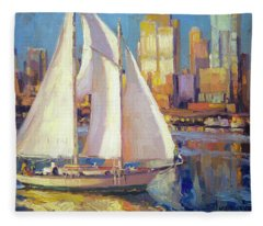 Elliot Bay Fleece Blanket