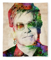 Elton John Fleece Blanket