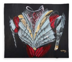 Elven Armor Fleece Blanket