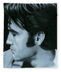 Elvis 68 Revisited Fleece Blanket