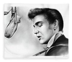 Elvis Presley Fleece Blanket