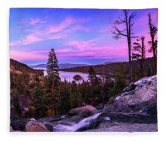 Emerald Bay Dreaming By Brad Scott Fleece Blanket
