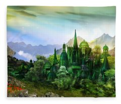 Emerald City Fleece Blanket