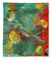 Emerald Island Fleece Blanket