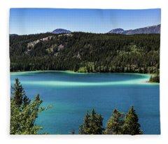 Emerald Lake 2 Fleece Blanket