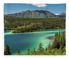 Emerald Lake Fleece Blanket