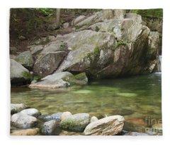 Emerald Pool - White Mountains New Hampshire Usa Fleece Blanket