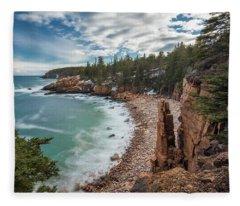 Emerald Shores At Monument Cove Fleece Blanket