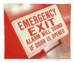 Emergency Fleece Blanket