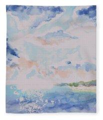 Emerging Sun 2 Fleece Blanket